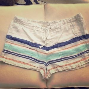 Lou & Grey LOFT Linen like Beach Shorts